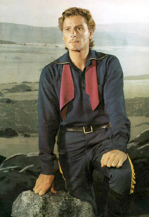 Errol Flynn, the Mullet years