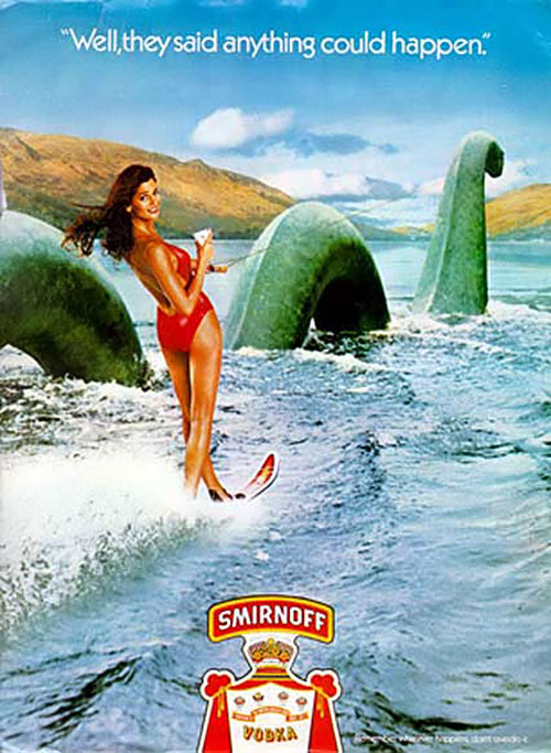 The famous Smirnoff Ad.